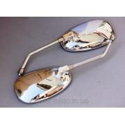Зеркала овал МТ, ИЖ хром, ножка 10мм