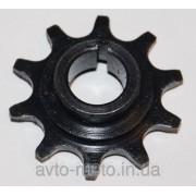 Звёздочка моторная 10 зубьев Веломотор